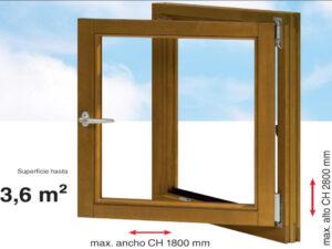 herrajes ventanas de madera